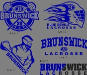 Blue Devils Lax Performance Accented Hoody